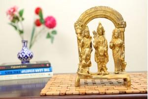Ram Darbar Brass Figurine