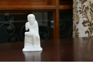 Marble Crafted Sai Baba-13 cm