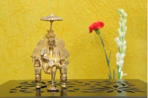 Sai Baba Brass Figurine