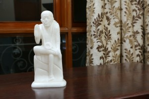 Sai Baba Marble Figurine-21 cm