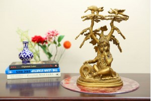 Bal Krishna Brass Showpiece