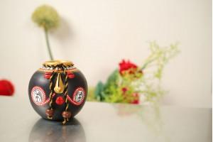 Terracotta Face Pot