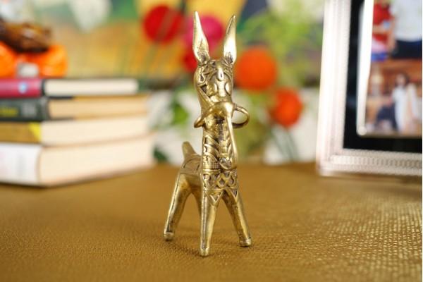 Bankura Horse Figurine: Dhokra Art-11 cm