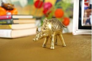 Dhokra Art Brass Bull