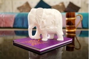 Marble Craft Warrior Elephant