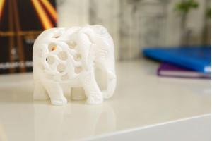 Elephant With Jali Work T.Down-8 cm