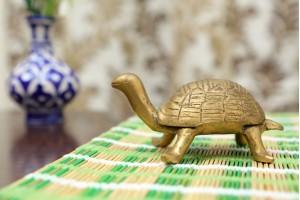 Brass Tortoise Figurin