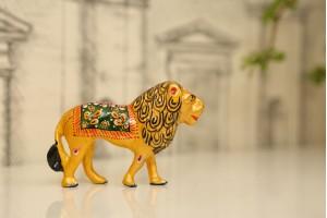 Meenakari Lion Home Decorative
