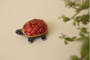 Meenakari Tortoise-6 cm