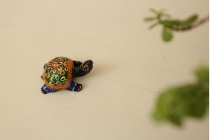 Tortoise in meenakari -3 cm
