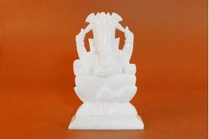 Marble Crafted Ganesha-21 CM