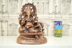 Aluminum Ganesha Idol