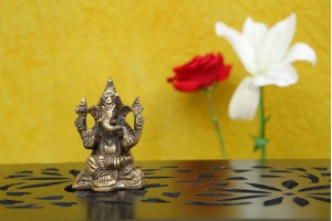 Brass Figurine Ganesha Idol