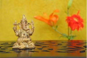 Brass Figurine Ganesha Idol