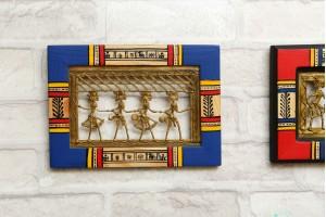 Dhokra Warli Painting/ wall Hanging