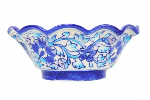Bowl- Blue Pottery
