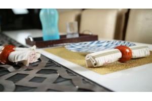 Paper Mache Napkin Ring