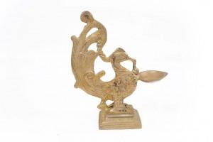 Bird Shaped Brass Diya