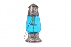 Lantern Shape tea Light Holder: Glass
