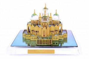 Akshardham Temple Crystal 24 karat Gold Plated -9 ...