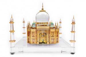 Taj Mahal Crystal 24 Karat Gold Plated-24 Cm