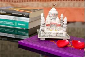 Marble Crafted Colorful Taj Mahal-10 cm