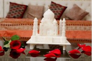 Marble Crafted Taj Mahal-20 cm