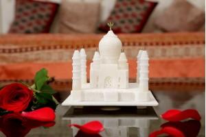 Marble Crafted Taj Mahal-13 cm