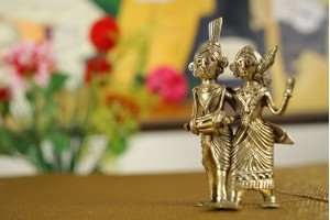Tribal Pair: Dhokra Art