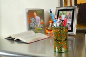 Pen Stand: Paper Mache