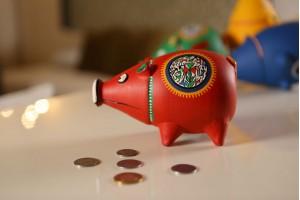 Piggy Bank Red: Terracotta