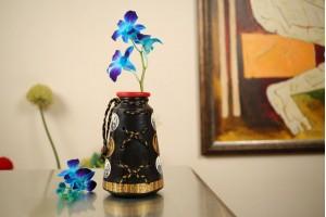 Terracotta A Shape Vase -18 cm
